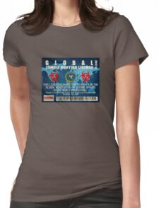ZOMBIE HUNTING LICENSE Womens Fitted T-Shirt