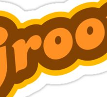 Groovy - Retro 70s - Logo Sticker