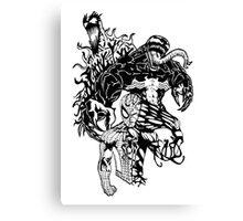 Spider-Man Venom and Carnage design Canvas Print