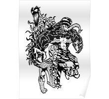 Spider-Man Venom and Carnage design Poster