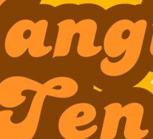 Hangin' Ten - Retro 70s - Logo Sticker