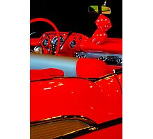 Chevrolet Beauty In Red Photographic Print