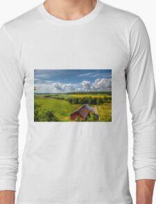 Rural Landscape Long Sleeve T-Shirt