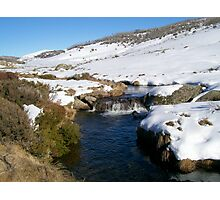 Creek Near Perisher Valley Country  NSW Photographic Print