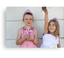 The two little princesses Metal Print