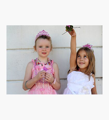 The two little princesses Photographic Print