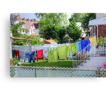 Backyard Scenery Canvas Print