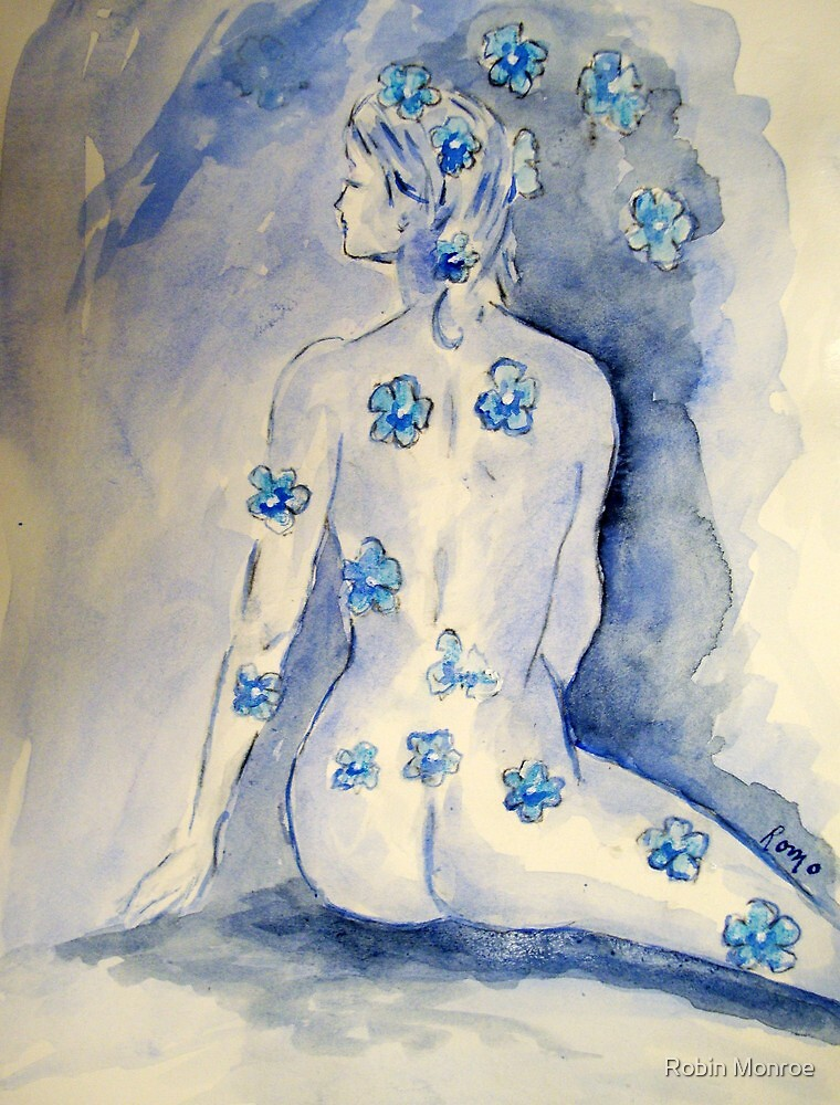 Dressed in Blue by Robin Monroe