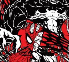 Spider-Man venom in colour Sticker