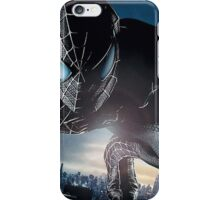 Almighty Spidy black iPhone Case/Skin