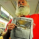 Man Going For Exorcist Job on New York Subway by MJD Photography  Portraits and Abandoned Ruins