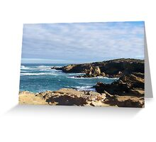 Thunder Point, Southwestern Victoria Greeting Card
