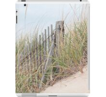 Fence in the sand dune iPad Case/Skin