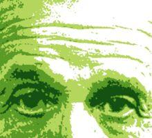Albert Einstein - Theoretical Physicist - Green Sticker