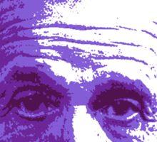 Albert Einstein - Theoretical Physicist - Purple Sticker