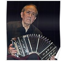The Accordian Man Poster