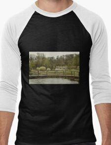 Early Spring in the Counties Men's Baseball ¾ T-Shirt