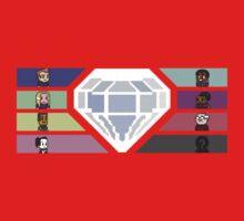 Pixel White Diamond | Community Kids Clothes