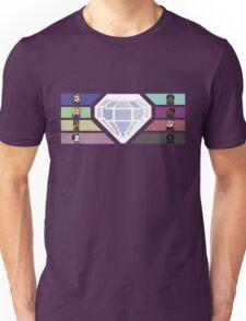 Pixel White Diamond | Community Unisex T-Shirt