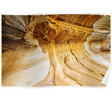 Sandstone Pattern - Painted Cliffs Poster