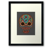Celtic Skull Framed Print