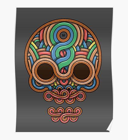 Celtic Skull Poster