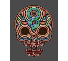 Celtic Skull Photographic Print