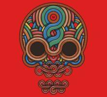 Celtic Skull One Piece - Long Sleeve
