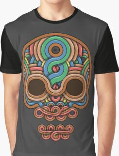 Celtic Skull Graphic T-Shirt