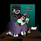 Steampunk acid chemist by Lauren Eldridge-Murray
