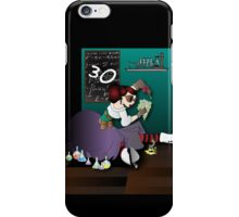Steampunk acid chemist iPhone Case/Skin
