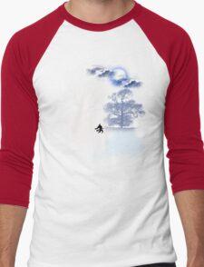 HOWLING MOON Men's Baseball ¾ T-Shirt