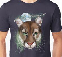 Midnight Mountain Lion Unisex T-Shirt
