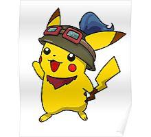 Teemo Pikachu Poster