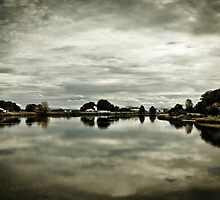 A bend in the river by Adam Marlow