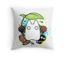 Chibi Totoro Throw Pillow