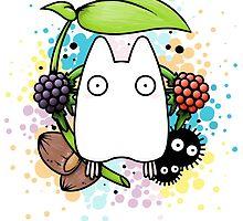 Chibi Totoro by crabro