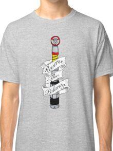 """Reverse The Polarity"" Classic T-Shirt"