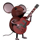 Mice on a Dice Guitar Mouse by MiceOnADice