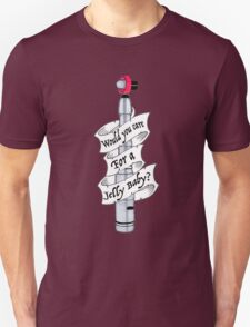 """""""Would You Care For A Jelly Baby?"""" Unisex T-Shirt"""