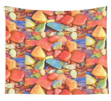 Colorful Stones Wall Tapestry