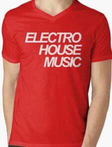ELECTRO HOUSE MUSIC Mens V-Neck T-Shirt
