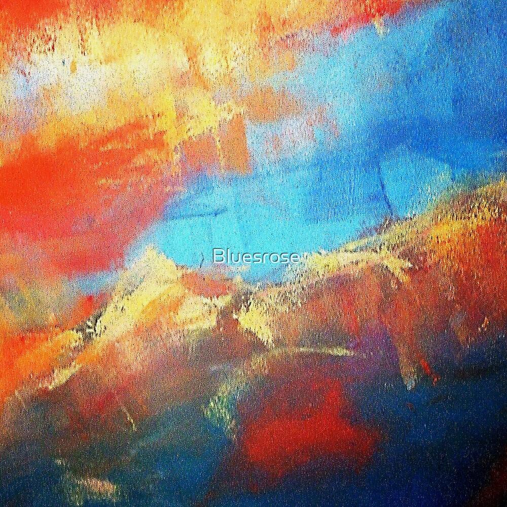 Mountain lake by Bluesrose