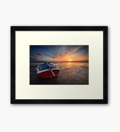 Island In The Sun Framed Print