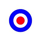 Mods Circle Blue White Red by connor95