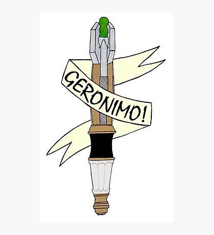 Sonic--Geronimo. Photographic Print