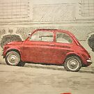 fiat 500 by Peter Brandt