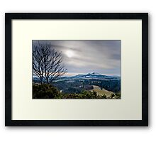 Scott's View, The Eildons, Scottish Borders Framed Print