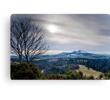Scott's View, The Eildons, Scottish Borders Canvas Print