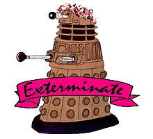 Hipster Dalek. Photographic Print